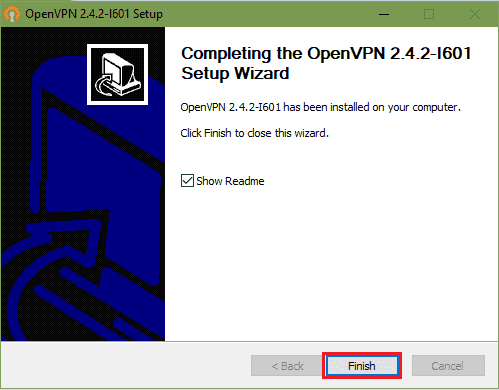openvpn windows setup guide step 5